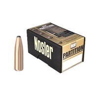 """Nosler Partition 30 Cal. 180 Grain .308"""" Protected Point Rifle Bullet (50)"""