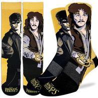 Good Luck Sock Men's The Princess Bride, Westley, & Inigo Montoya Crew Sock