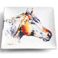 Big Sky Carvers Horse Head Snack Plate