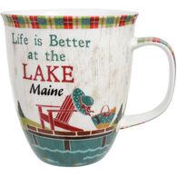Cape Shore Maine Life Is Better At The Lake Harbor Mug