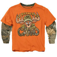 Buck Wear Boys' Rather Camo Long-Sleeve Shirt