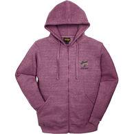 Renegade Club Women's Pinecone Maine Fleece Full Zip Hooded Sweatshirt