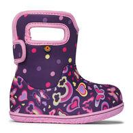 Bogs Infant/Toddler Girls' Baby Bogs Rainbows Rain Boot