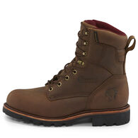"Chippewa Men's Limited Edition 8"" Crazy Horse Leather Super Logger Insulated Soft Toe Work Boot"
