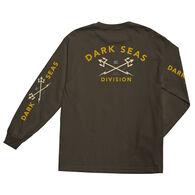 Grundens Men's Dark Seas Headmaster Long-Sleeve T-Shirt