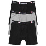 Champion Men's Everyday Comfort Boxer Brief, 3/pk