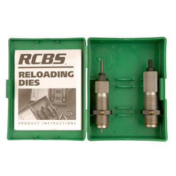 RCBS Bottleneck Rifle Two Die Set - Group D
