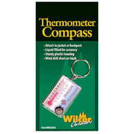 Wilcor Thermometer / Compass Zipper Pull