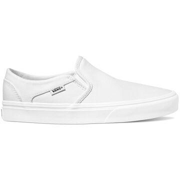 Vans Womens Asher Canvas Slip-On Sneaker