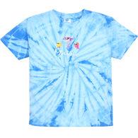 1ba49a32 ESY Boys' & Girls' Shark Tie Dye Short-Sleeve T-Shirt