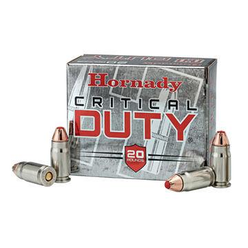 Hornady Critical Duty 9mm 135 Grain FlexLock Handgun Ammo (25)
