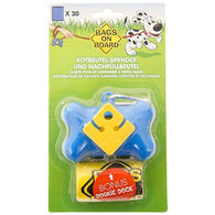 Bags On Board Bone Dog Waste Pick-Up Dispenser & Refill Bags
