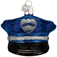 Old World Christmas Police Officer Cap Ornament