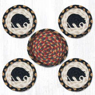 Capitol Earth Black Bear Coaster Set, 5-Piece