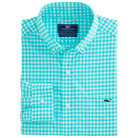 Vineyard Vines Men's Classic Fit Everina On-The-Go Performance Tucker Button-Down Long-Sleeve Shirt