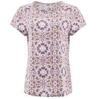 Aventura Women's Mosaic Short-Sleeve Top