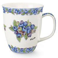 Cape Shore Maine Blueberry Harbor Mug