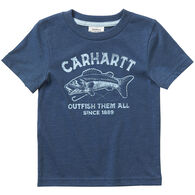 Carhartt Boy's Heather Graphic Short-Sleeve T-Shirt