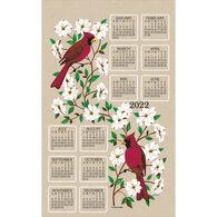Kay Dee Designs 2022 Dogwood & Cardinal Calendar Towel