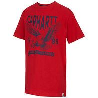 Carhartt Boys' Land of Free Short-Sleeve T-Shirt