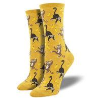 Socksmith Design Women's Going Bananas Crew Sock
