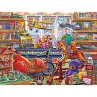 White Mountain Jigsaw Puzzle - Toy Shoppe