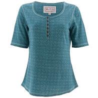 Aventura Women's Leanna Elbow Short-Sleeve Shirt