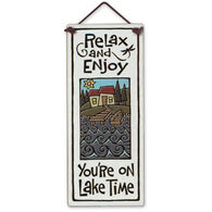 "Spooner Creek ""Lake Time"" Large Talls Tile"