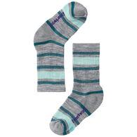 SmartWool Boys' & Girls' Striped Hike Light Cushioned Crew Sock