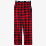 Hatley Little Blue House Men's Buffalo Plaid Jersey PJ Pant