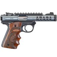"Ruger Mark IV 22/45 Lite Diamond Gray Anodized Target Laminate 22 LR 4.4"" 10-Round Pistol"