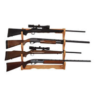 Allen Company Four Gun Wooden Wall Rack