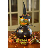 Meadowbrooke Gourds Fiona Medium Lit Witch