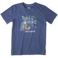 Life is Good Boys' Take A Hike Crusher Short-Sleeve T-Shirt