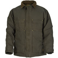 Berne Men's Washed Quilted Lined Chore Coat