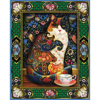 White Mountain Jigsaw Puzzle - The Painted Cat