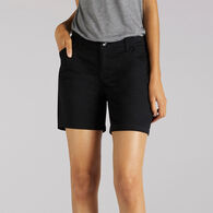 Lee Jeans Women's Straight Fit Tailored Chino Short