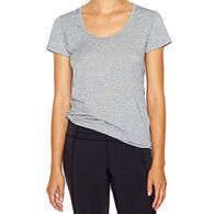 Lucy Women's Workout Short-Sleeve T-Shirt