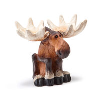 Big Sky Carvers Sitting Moose Mini Figurine