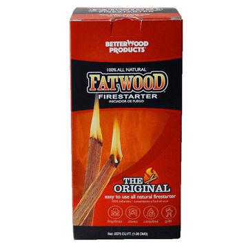 BetterWood Products 1.5-Lb. Box Fatwood Firestarter