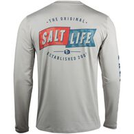 Salt Life Men's Salute Performance Long-Sleeve T-Shirt