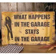 Ohio Wholesale What Happens Garage Metal Sign