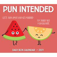 Willow Creek Press Pun Intended 2021 Box Calendar