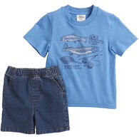 Carhartt Infant Boy's In The Wild Short Set