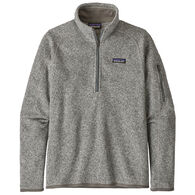 Patagonia Women's Better Sweater 1/4-Zip Fleece Pullover