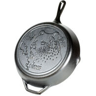 "Lodge Wildlife Series Bear 12"" Cast Iron Skillet"
