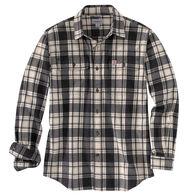 Carhartt Men's Hubbard Plaid Flannel Long-Sleeve Shirt