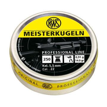 RWS Meisterkugeln 22 Cal. Pellet (250) - Discontinued Model