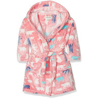 Hatley Girls' Bears Towel Robe