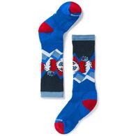 SmartWool Boys' & Girls' Wintersport Yeti Over-The-Calf Ski/Board Sock